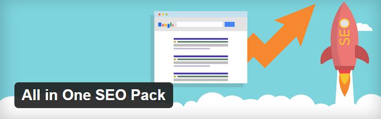 5 Melhores plugins de SEO para WordPress - All In One SEO Pack- Plugin