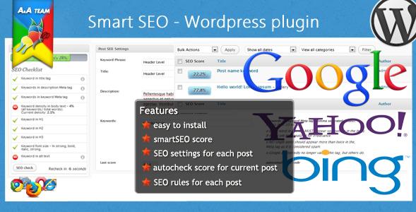 5 Melhores plugins de SEO para WordPress - Smart SEO WordPress Plugin - Plugins